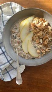 Porridge oats CBD RECIPE