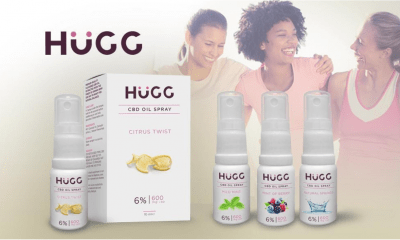 Hugg CBD oil sprays