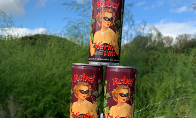 Rebel Wine CBD-infused red