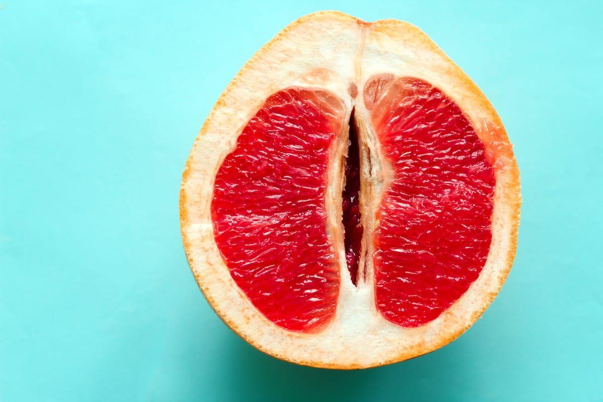 grapefruit vulva