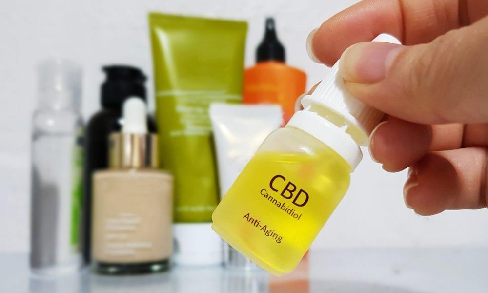 CBD skin care anti-ageing