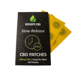 CBD patches from Brown's CBD