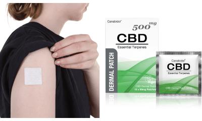 British Cannabis CBD dermal patch