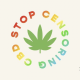 Censoring CBD: The logo of a new campaign aimed at preventing censorship of CBD companies
