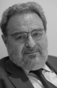 Event: A black and white headshot of Dr Anthony Ordman