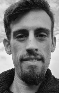 Event: A black and white headshot of guest speaker Alex Fraser