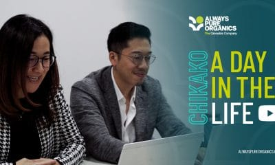 Always Pure Organics: A man and a woman working on a laptop.
